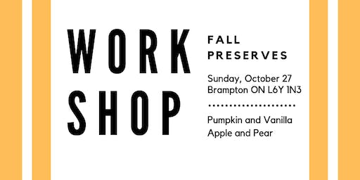 Fall Preserves Workshop