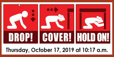 2019 ShakeOut Healthcare Organization Exercise Registration tickets