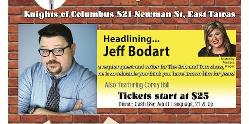 Comedy in Tawas at Knights of Columbus