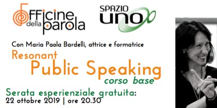 Resonant Public Speaking | Serata gratuita