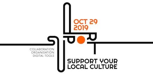30-minütige Einzelberatungen // SUPPORT Your Local Culture 2019