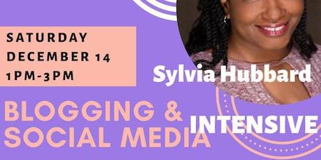 Blogging & Social Media Intensive tickets