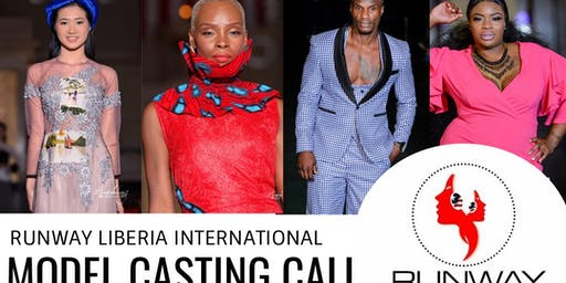 International Model Casting Call - Runway Liberia International