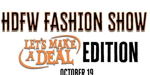 HDFW Fashion Show - Let's Make A Deal Edition