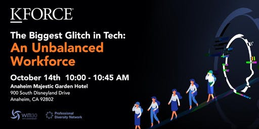 FREE Seminar - The Biggest Glitch in Tech: An Unbalanced Workforce