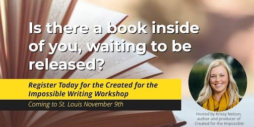 VIP Lunch & Writing Workshop 101 w Krissy Nelson