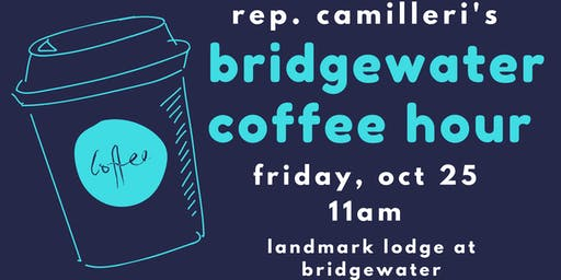 Bridgewater Coffee Hour with Rep. Camilleri
