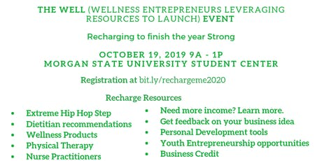 The WELL (Wellness Entrepreneurs Leveraging Resources to Launch) EVENT tickets