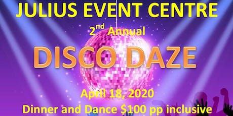 DISCO DAZE tickets