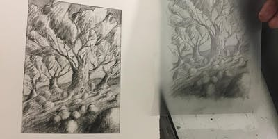 Printmaking Taster: Drawing with Photopolymer