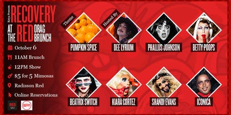 Recovery at the Red Drag Brunch (ONE RESERVATIONS PER TABLE) tickets