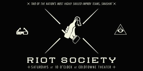 RIOT SOCIETY tickets