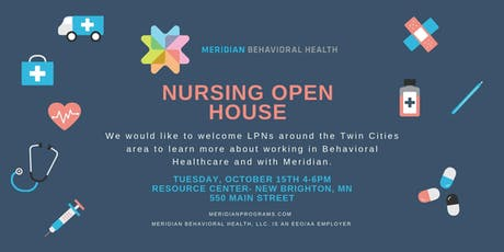 Nursing Open House tickets