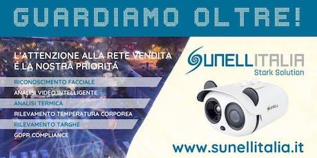 Road Show Sunell Italia 2019 - Guardiamo Oltre! presso Omega S.r.l. biglietti