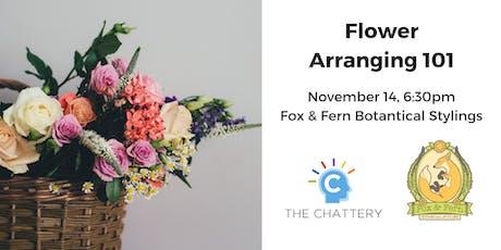 Bouquet Basics: Flower Arranging 101 tickets
