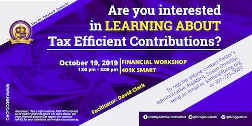 FBCOG Financial Workshop