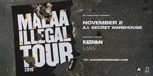 Malaa w/ Keenan + Lans at A.i. [Secret Warehouse] (21+)