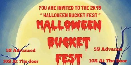 Halloween Bucket Fest tickets
