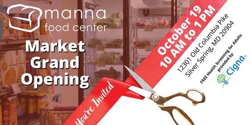 Manna Market Grand Opening, Ribbon Cutting & Block Party
