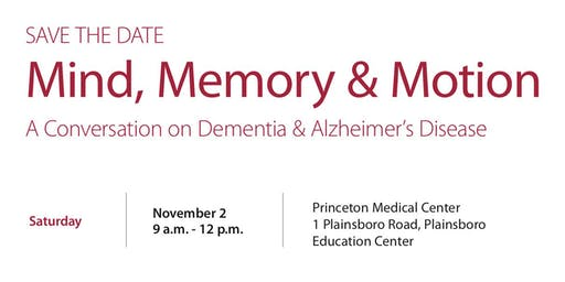 Mind, Memory & Motion  - A Conversation on Dementia & Alzheimer's Disease