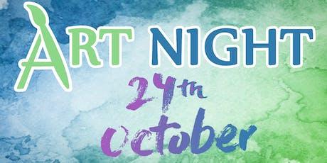Art Night! : October Shenanigans! tickets