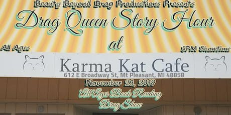Drag Queen Story Hour:  a Drag Benefit for Karma Kat Cafe! tickets