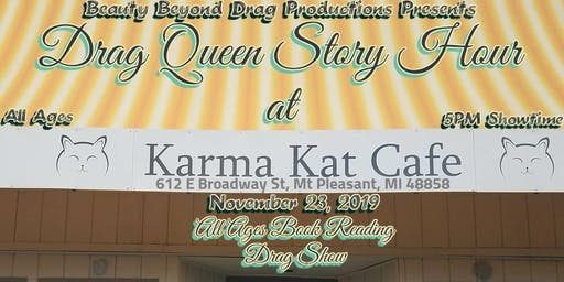 Drag Queen Story Hour:  a Drag Benefit for Karma Kat Cafe!