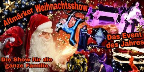 Altmärker Weihnachtsshow - Gala-Premiere SONDERPREIS !  Tickets