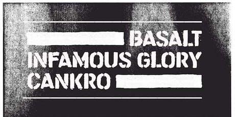 SHOW • Infamous Glory + Basalt + Cankro @ Dissenso Lounge ingressos