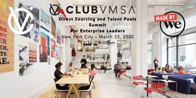Direct Sourcing/Talent Pools Summit for Enterprise