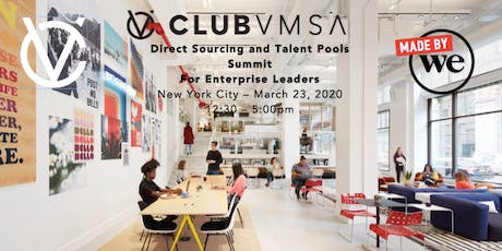 Direct Sourcing/Talent Pools Summit for Enterprise tickets