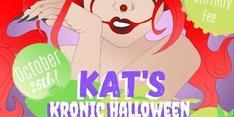 Kat's Kronic Halloween Birthday Bash tickets
