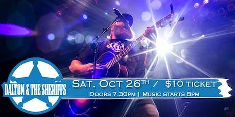 Dalton & The Sheriffs (Country Night) at Soundcheck Studios tickets