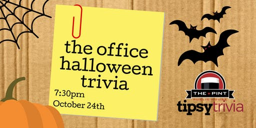 The Office Halloween Trivia - Oct 24, 7:30pm - The Pint YVR