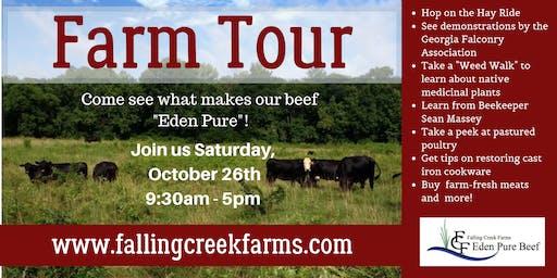 Farm Tour at Falling Creek Farms!