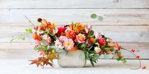 Fall Floral Arranging Fiesta!