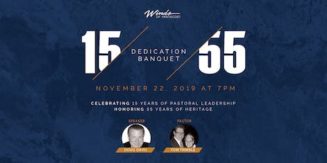Winds of Pentecost Dedication Banquet tickets