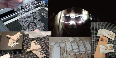 Maker LAB : Laser Cutting tickets