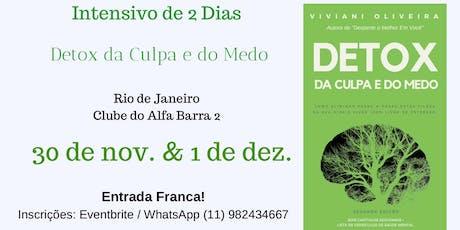 Detox da Culpa e do Medo - Rio de Janeiro ingressos