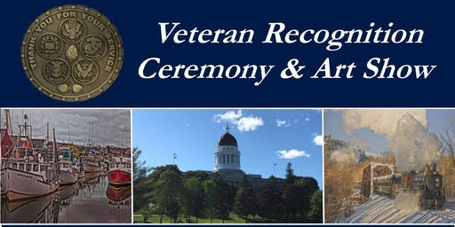 Veteran Recognition Ceremony and Art Show