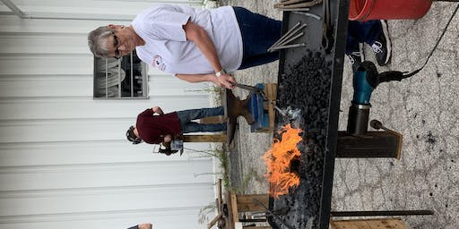 Hand Forged Rose Workshop with Tolbert Family Forge