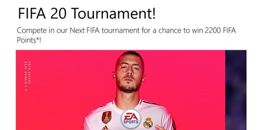 Free All Ages FIFA 20 Tournament Hosted by Microsoft