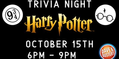 Harry Potter Trivia Dave and Buster's Myrtle Beach