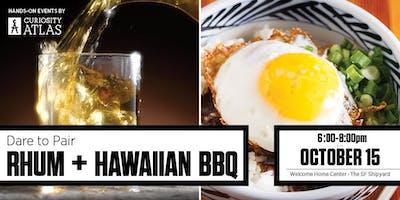 Dare to Pair: Raff Distillery + Hawaiian BBQ