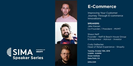 SIMA Speaker Series  : E-Commerce