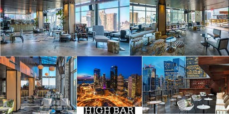 """10/26- GET HIGH! """"HALLOWEEN PARTY"""" @ HIGH BAR! NYC's Tallest Rooftop! AMAZING 360 Degree VIEWS! tickets"""