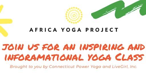 LiveGirl's Africa Yoga Project Class!