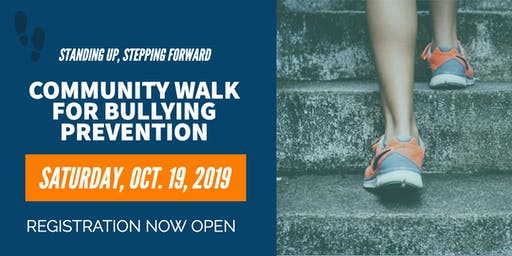 Standing Up, Stepping Forward: Community Walk for Bullying Prevention
