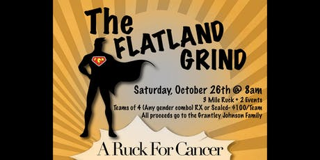 The Flatland Grind: A Ruck for Cancer tickets