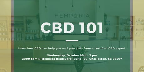 CBD 101 at Hemporia Charleston tickets